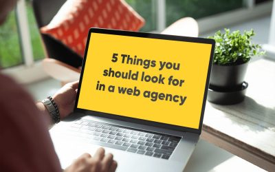 5 Things you should look for in a web agency